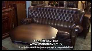 Антикварная мебель. Магазин Viesturs BM(Больше видео на нашем портале www.avideo.lv. Присутствие в доме антикварной мебели с ее аристократическим шарм..., 2014-05-15T14:31:30.000Z)