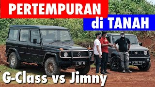 OFF-ROAD CHALLENGE: G-Class vs Jimny | part 1
