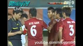 U23 Myanmar 0-0 U23 Việt Nam (Highlights bảng B, bóng đá Nam SEA Games 26)
