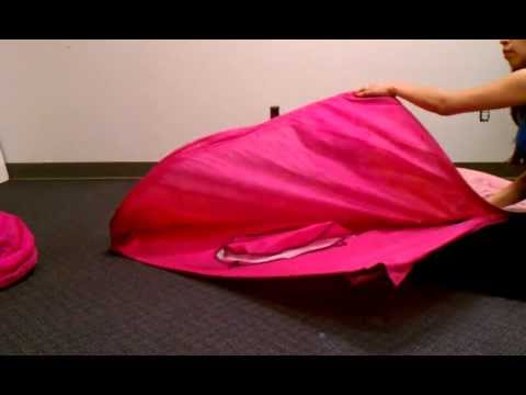 How to untwist wires and fold Playhut EZ Twist play tents & How to untwist wires and fold Playhut EZ Twist play tents - YouTube