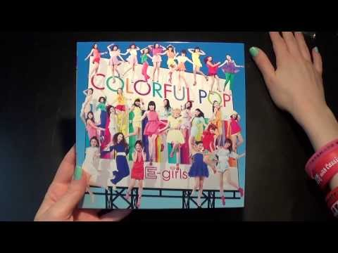 Unboxing E-Girls / 2nd Album セカンドアルバム 「Colorful Pop」 [Limited CD+DVD Edition]