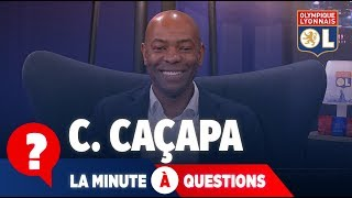 La minute à questions VS Claudio Caçapa | Olympique Lyonnais