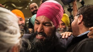 Poll shows one third Canadians won't vote for turbaned Sikh