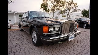 The SZ Series like this 1988 Silver Spur are the last true classic handbuilt cars from Rolls-Royce