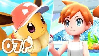 Pokémon Let's Go Eevee Let's Play - Part 07 | MISTY'S GYM BATTLE!
