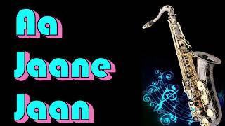 #194:-Aa Jane Jaan || Intaquam || Helen|| Lata Mangeshkar|| Best Saxophone Instrumental