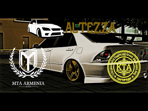 DG Drifter ALTEZZA (Video By HKE) GTA MTA ARMENIA / KTA KAVKAZ