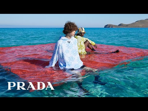 Miuccia Prada and Raf Simons present Prada SS22 menswear collection
