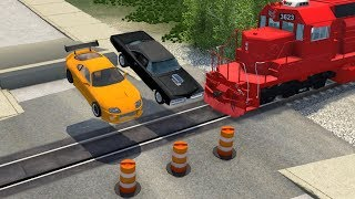 Street Racing Disasters #1 - beamng drive