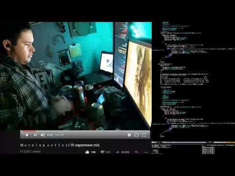 Troy Fletcher Freelance Coding Live Stream w/ Mechanical Keyboards