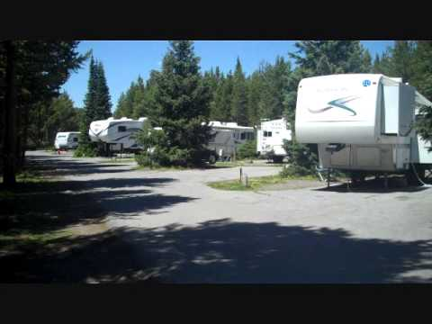 rv hook up yellowstone