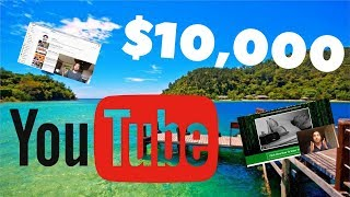 How to Make Over $10,000 Per Month on Youtube