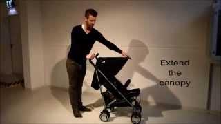 Как правильно складывать и раскладывать коляски-трости Cybex