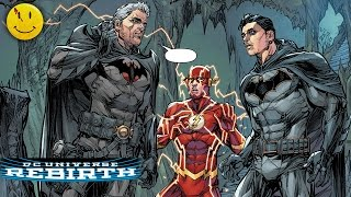 "THE BUTTON Parte 2 - Flash Rebirth #21 | ""Flash y Batman viajan en el Tiempo"" 