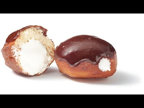 Mexican Hot Chocolate Glazed Sufganiyot