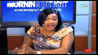 Gambar cover Morning Delight with Romelia Esangbedo and Adetola Kayode 13-06-19