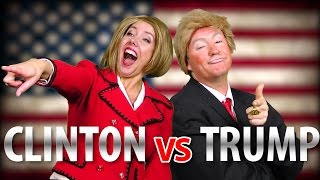 TRUMP vs HILLARY (Rap News 36 - Special Edition!)