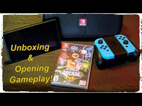Namco Museum Arcade Pac Unboxing-Nintendo Switch