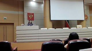 Онлайн трансляция брифинга Лилии Галимовой 18/04/19 ТНВ