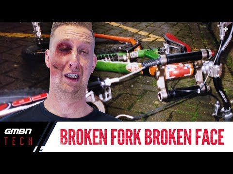 The Mountain Bike Fork That Broke Doddy's Face | Ask GMBN Tech