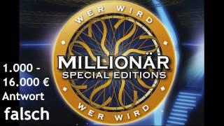 Wer wird Millionär Soundtracks [6] - 1.000-16.000 € [Antwort Falsch]