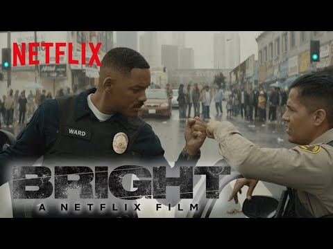 """Bright   Trailer #3 """"Good vs. Evil"""" [HD]   Written by MAX LANDIS  Directed by DAVID AYER   Netflix"""