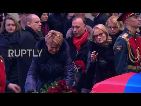 Russia: Muscovites pay tribute to 'People's Diplomat' Vitali Churkin