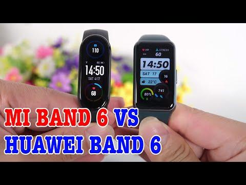 So sánh Huawei Band 6 vs Mi Band 6 : LỰA CHỌN KHÓ KHĂN