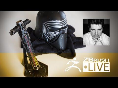 Star Wars Kylo Ren Lightsaber #5: Fan Art: Cosplay & 3D Printing - Thomas Roussel