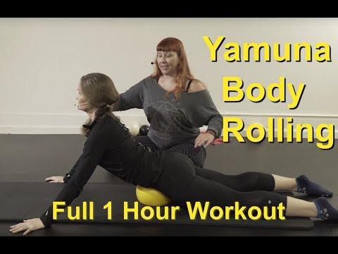 Upside-Down Pilates - Yamuna Body Rolling Full 1 Hour Workout