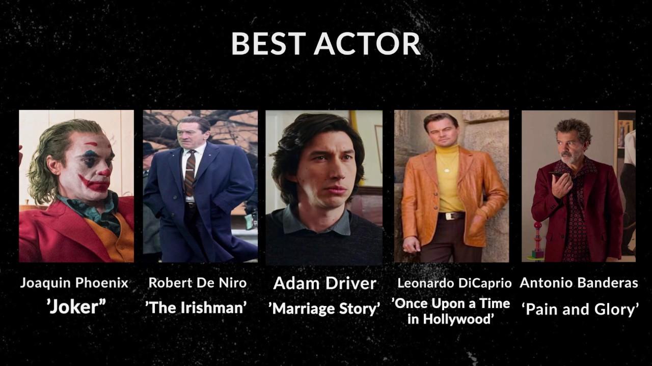 Oscar Predictions 2020