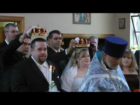 Russian Orthodox Crowning Ceremony.wmv