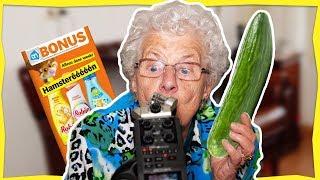 Oma Miep (84) gaat LOS met ASMR 😂