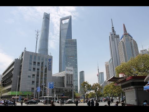 Walking Around Pudong (Shanghai)