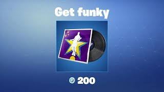 Get funky | Fortnite Music