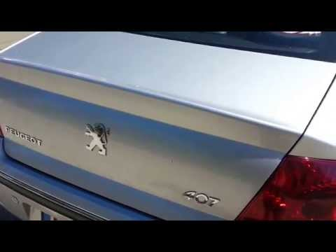 Peugeot 307 Citroen Tailgate Door Boot Locking Mechani