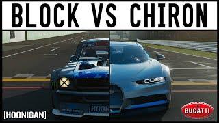 Ken Block VS Bugatti Chiron - EPIC DRIFT BATTLE - Forza 7