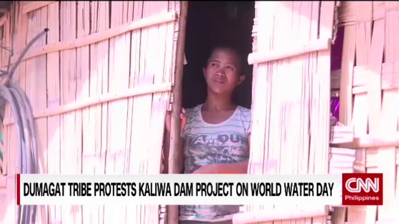 Dumagat tribe protests Kaliwa Dam project on World Water Day