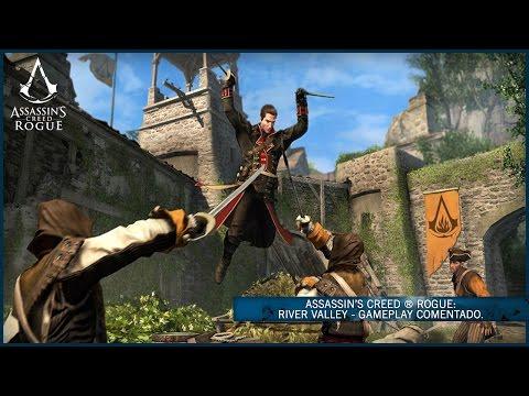 Assassin's Creed ® Rogue: River Valley - Gameplay Comentado [ES]