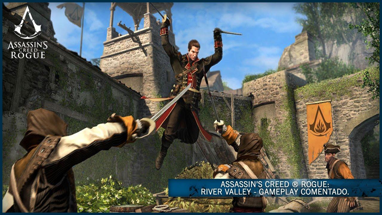 Assassin S Creed Rogue River Valley Gameplay Comentado Es