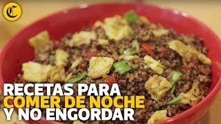 Comer de noche no engorda - El Comercio | elcomercio.pe