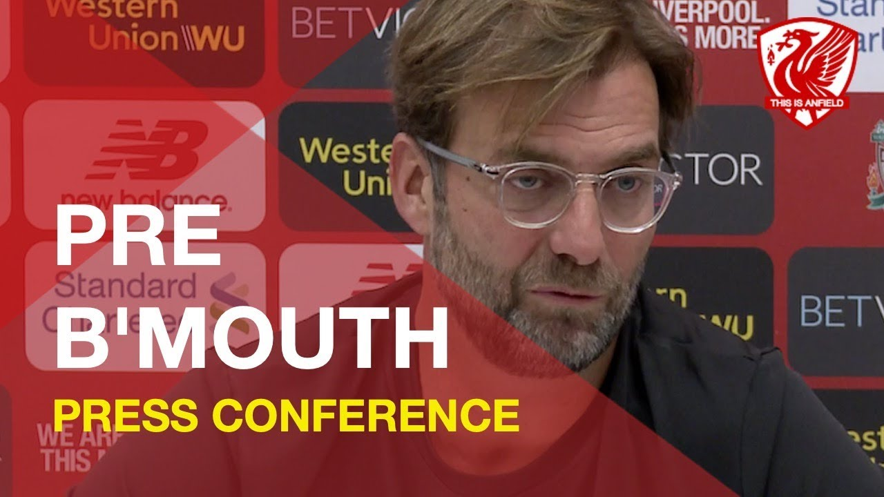 bournemouth-vs-liverpool-jurgen-klopp-press-conference