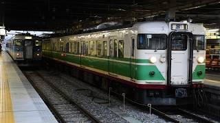 しなの鉄道115系(初代長野色)長野駅発車シーン