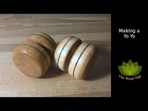 Making a Yo Yo - Woodturning Project - Woodworking