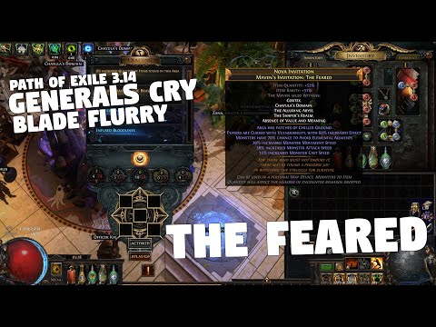 Path of Exile 3.14 - ULTIMATUM - The Feared - Generals Cry Blade Flurry