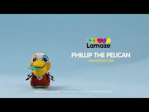 Lamaze Бебешка играчка - Пеликанът Филип #sxMWZqlY6P0