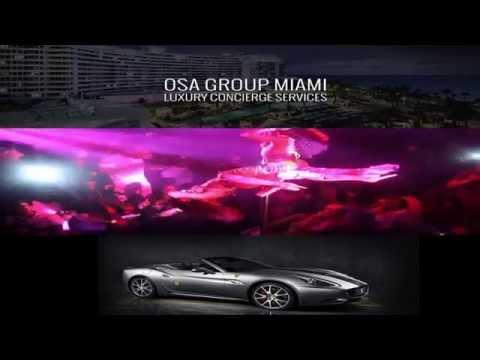OSA Group Miami Luxury Concierge Services @Cameo #MIA