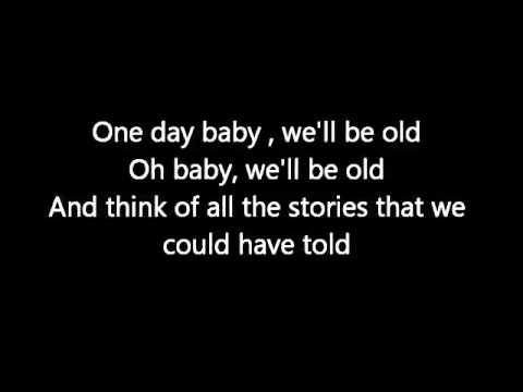 One Day Lyrics Asaf Avidan