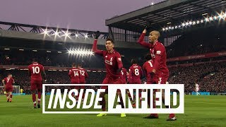Inside Anfield: Liverpool 4-3 Crystal Palace | TUNNEL CAM from the Reds' dramatic win