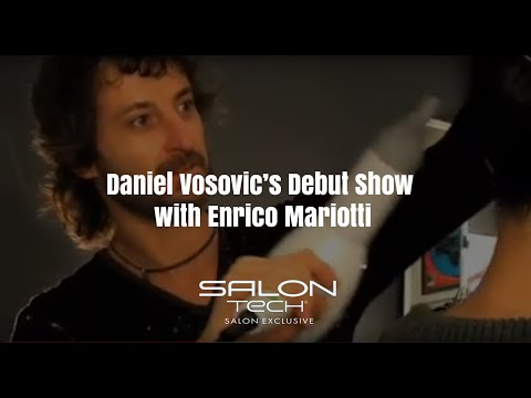[Salontech Style] SalonTech at Daniel Vosovic's Debut Show with Enrico Mariotti